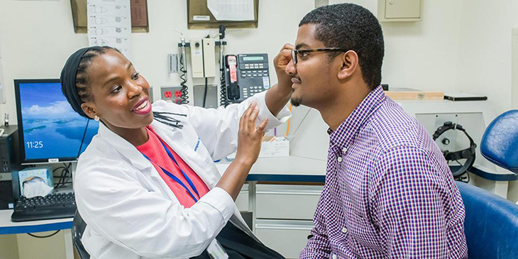 Healthy Vision Month - Eye Exam
