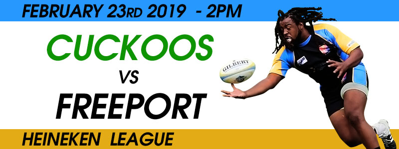 Cuckoos Vs Freeport | Bahamas Rugby