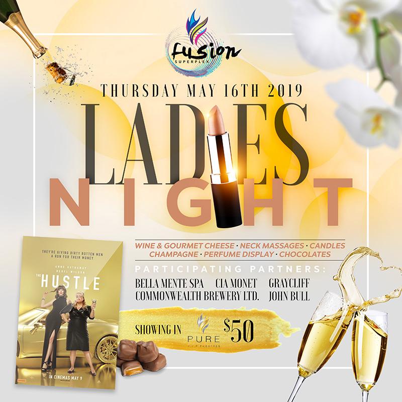Ladies Night At Fusion Superplex