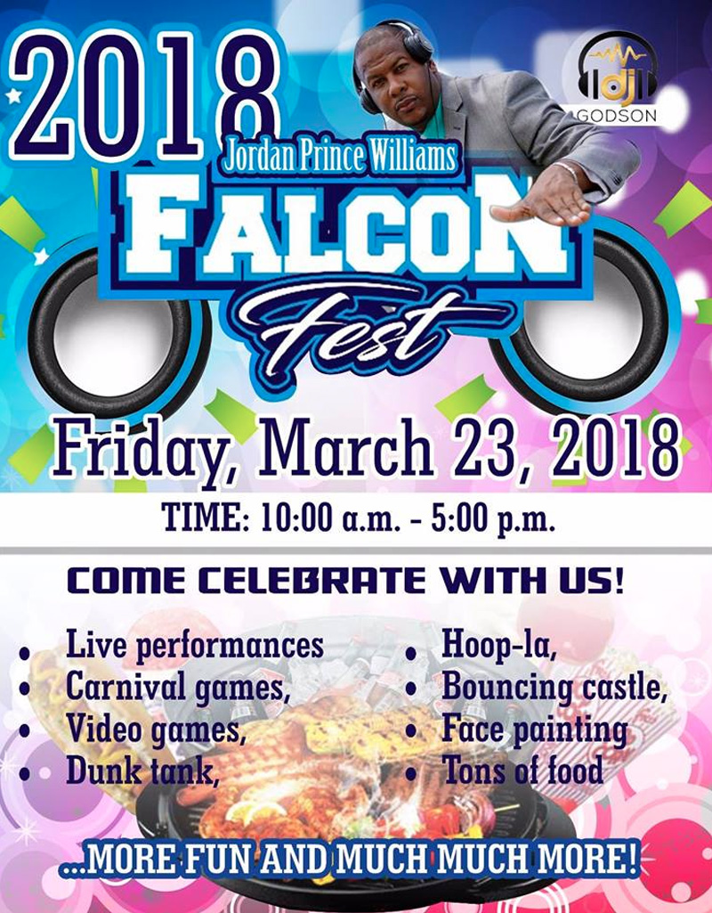 Falcon Fest 2018 Hosted by Jordan Prince Williams School