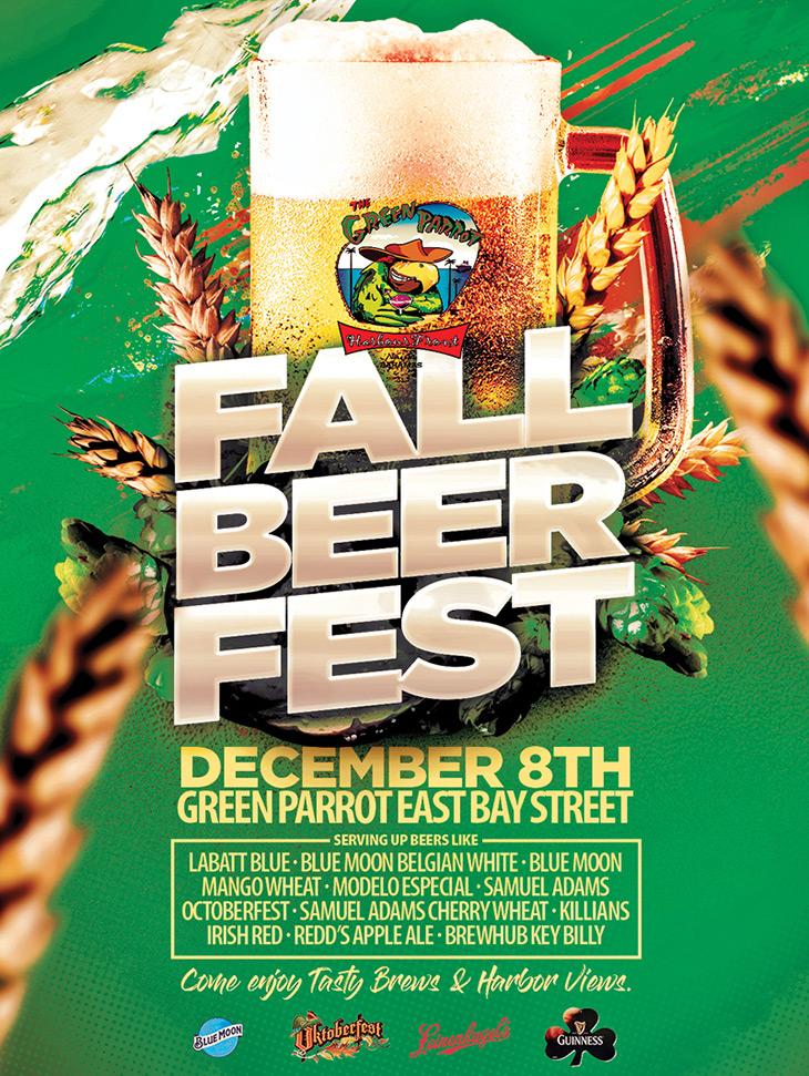 Green Parrot Fall Beer Fest