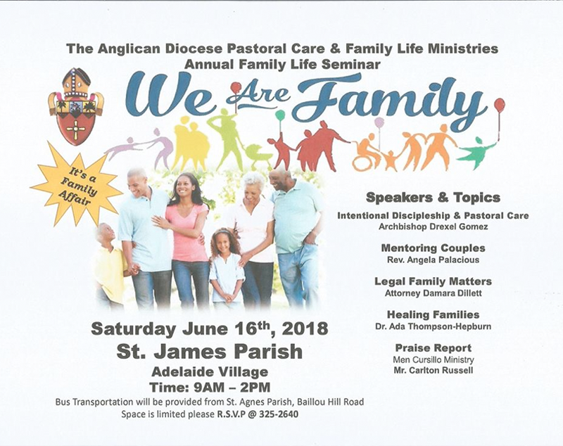 Family Life Seminar Hosted by Saint James Anglican Church Adelaide
