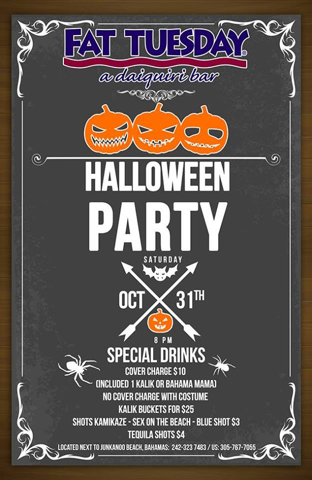 Fat Tuesday Halloween Party