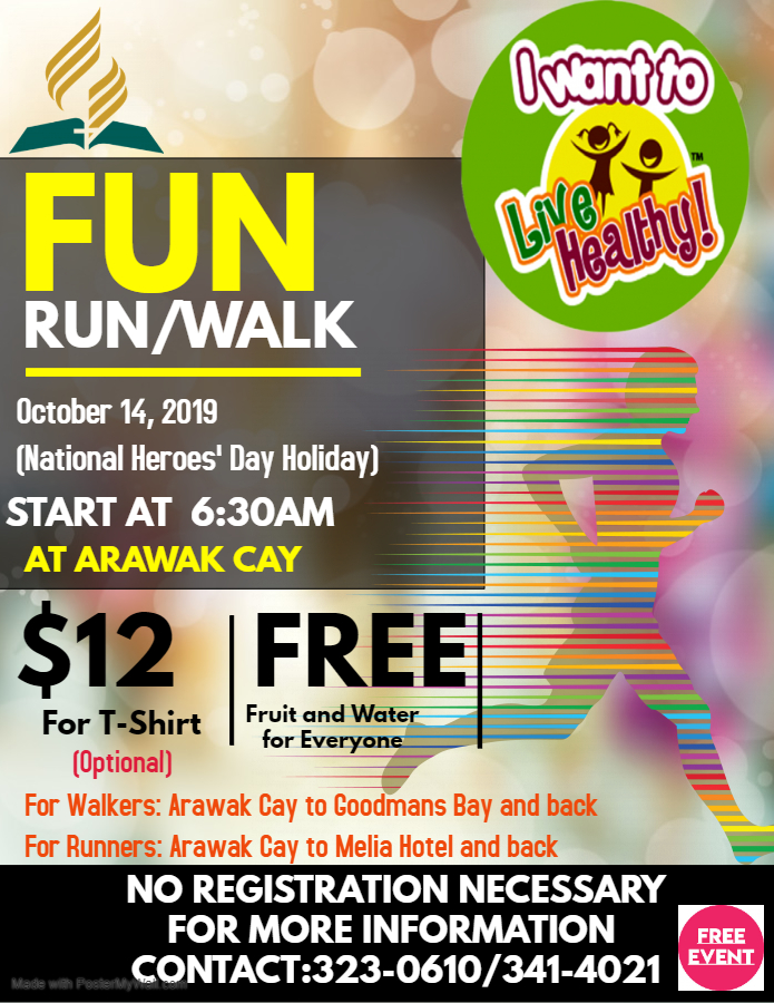 Fun Run/Walk at Arawak Cay
