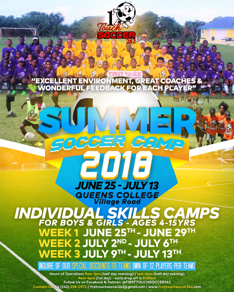 Summer Soccer Camp 2018 Hosted by One Touch Soccer 242