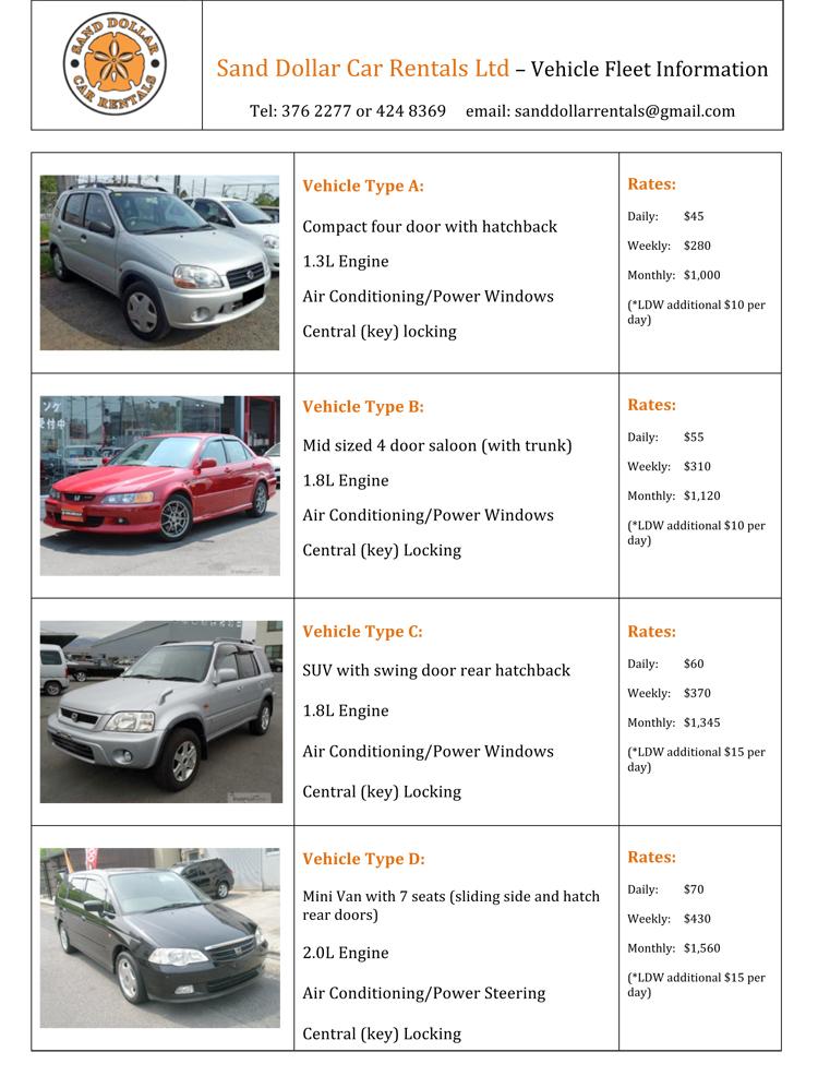 Sand Dollar Car Rentals