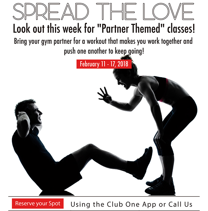 Partner Week at Club One Fitness Centre