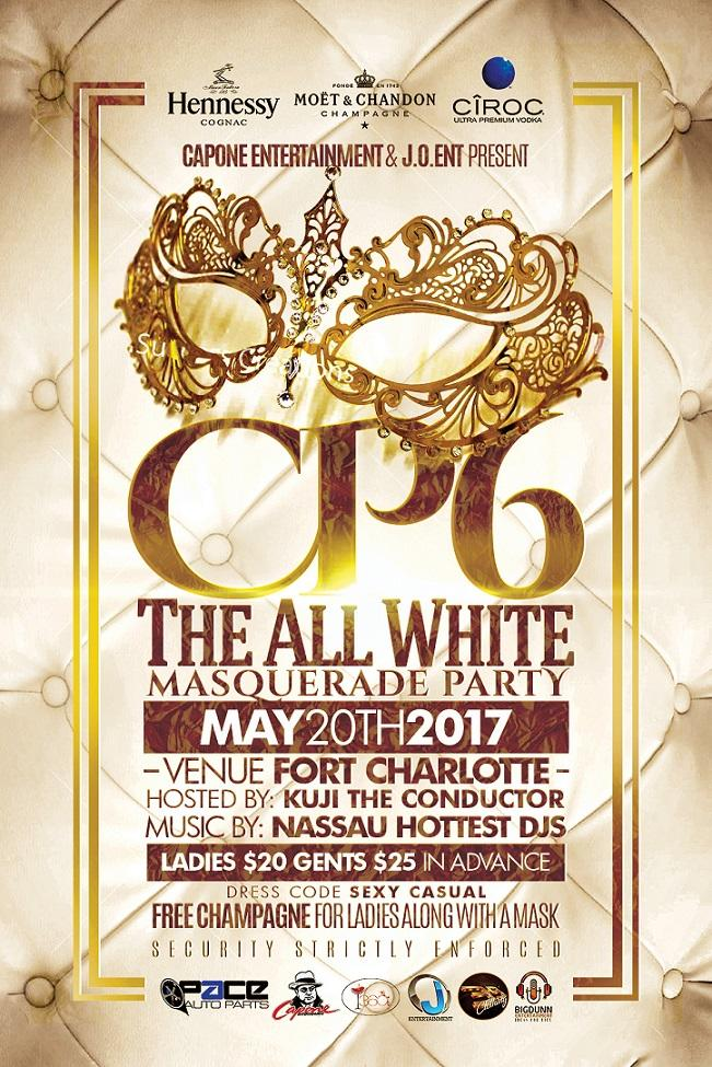 CP6 The All White Masquerade Party
