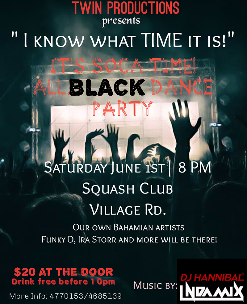 Twin Production Presents | All Black Dance Party