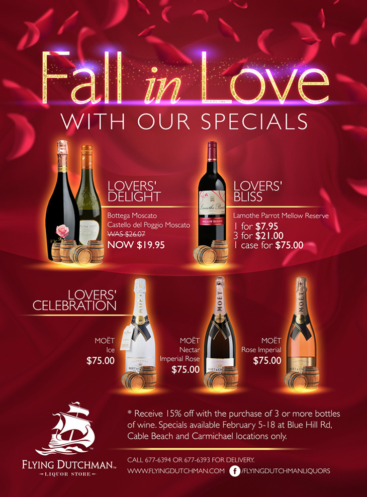 Fall In Love With Our Specials at Flying Dutchman Liquor Store