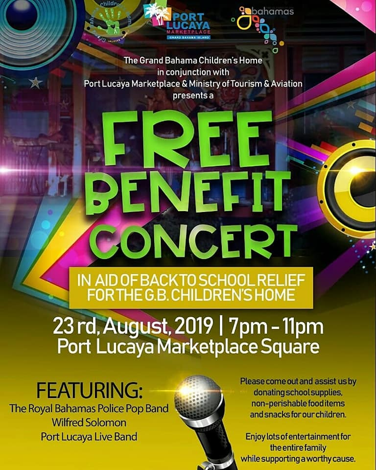 Free Benefit Concert for the G.B Children's Home