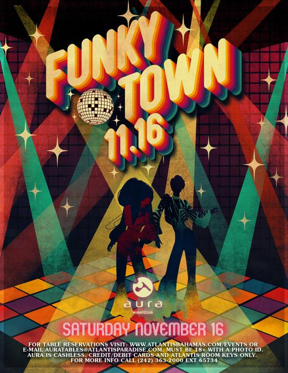 Aura Nightclub – Funky Town 11/16
