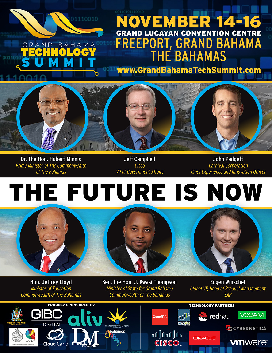 2018 Grand Bahama Technology Summit | The Future is Now