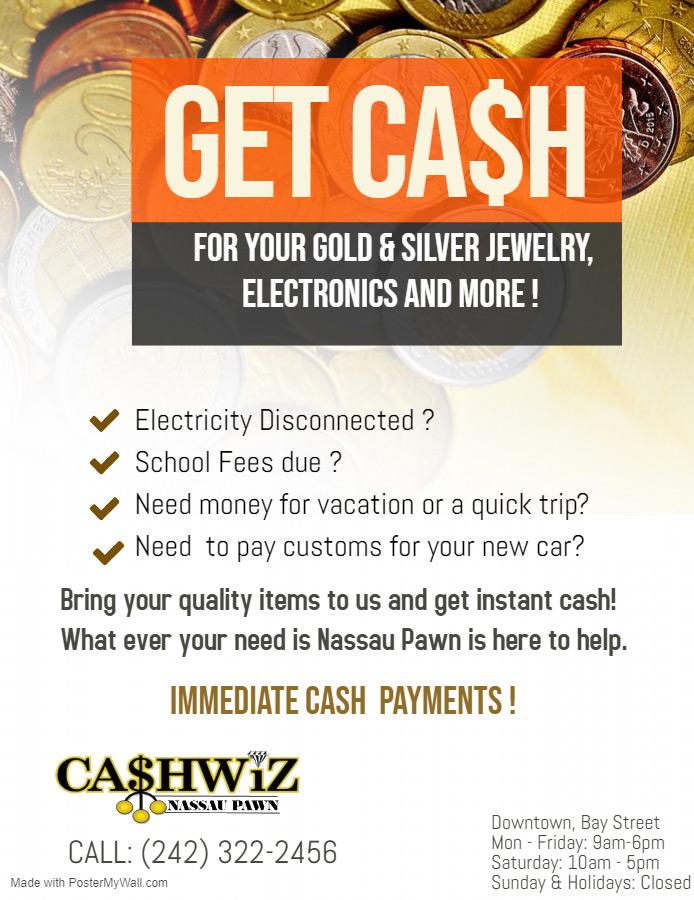 Cashwiz - Nassau Pawn | Get Cash Instantly