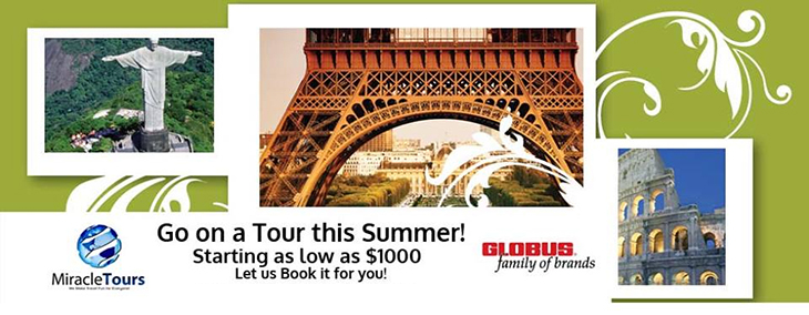 Miracle Tours | Go On A Tour This Summer!