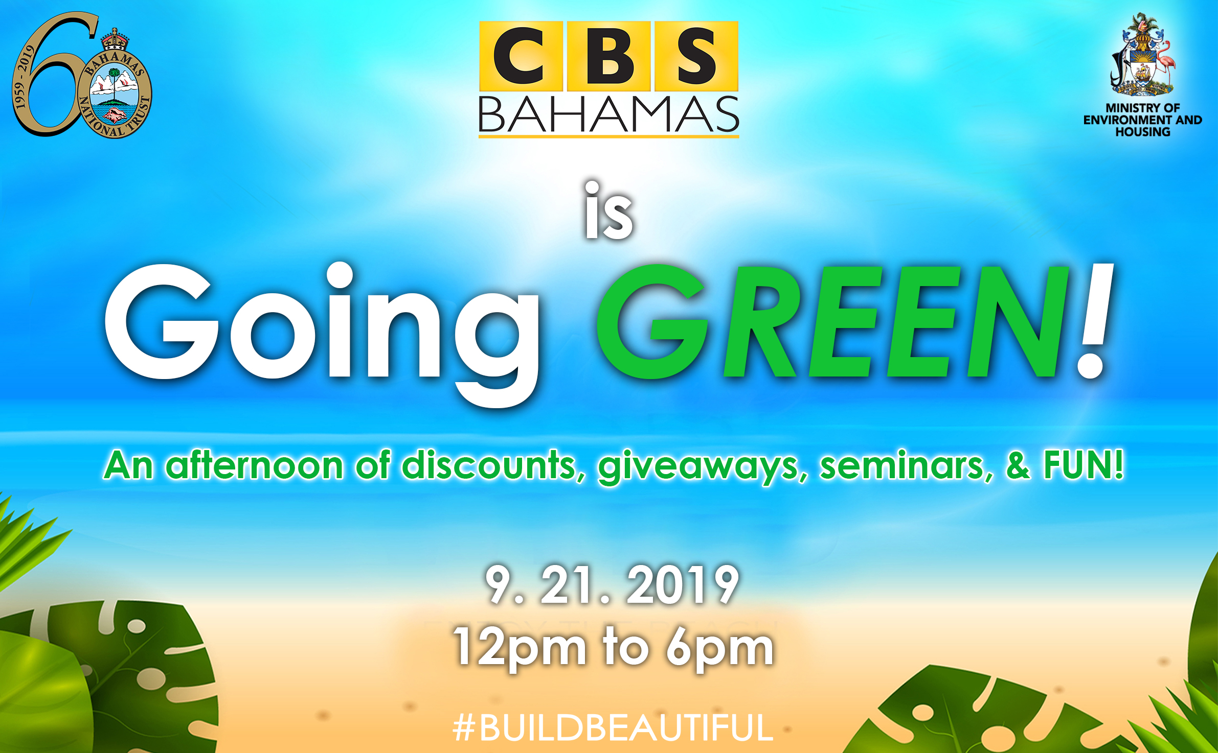 CBS Bahamas is Going Green