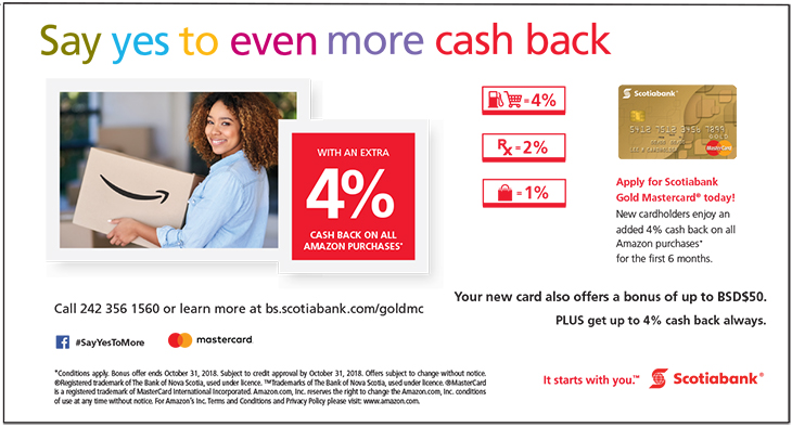 Scotiabank | Say Yes To Even More Cash Back