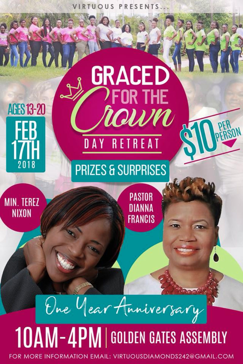 "Graced for the Crown ""Girls Day Retreat"" Hosted by Virtuous"