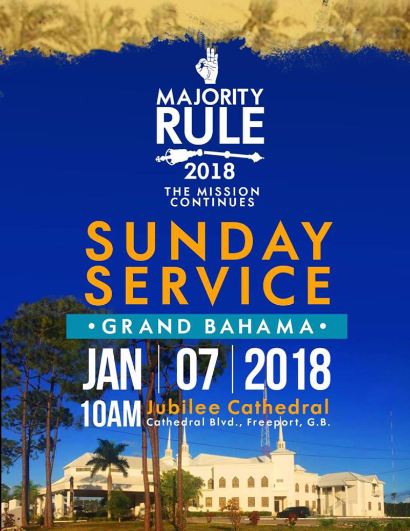 Grand Bahama Majority Rule Service