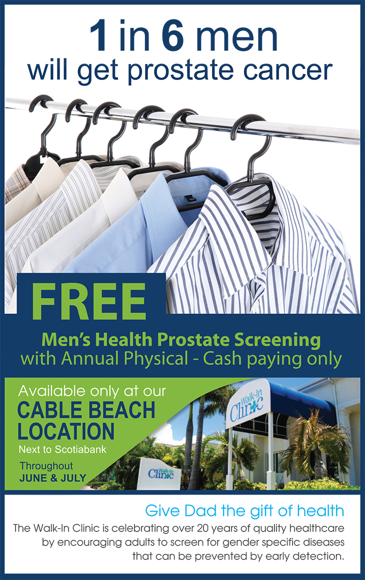 Walk-In Medical Clinic Free Prostrate Screening