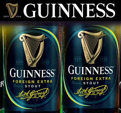 Guinness Foreign Extra Stout, the number 1 selling Stout in The Bahamas