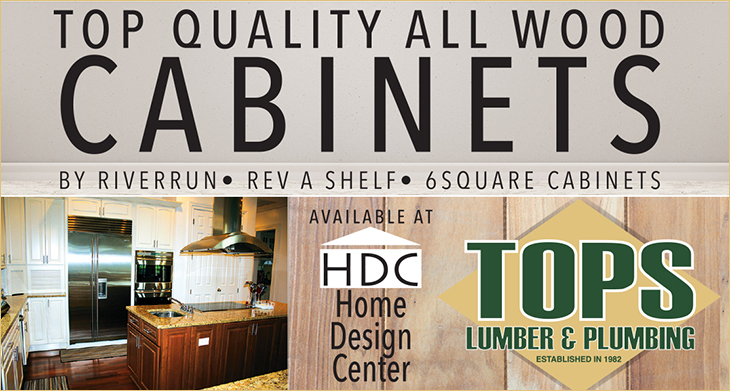 Tops Lumber & Plumbing Supplies Top Quality All Wood Cabinets
