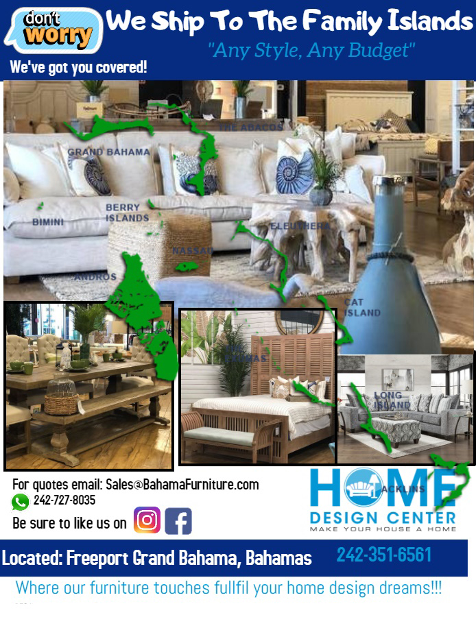 Home Design Center Ships To The Family Islands