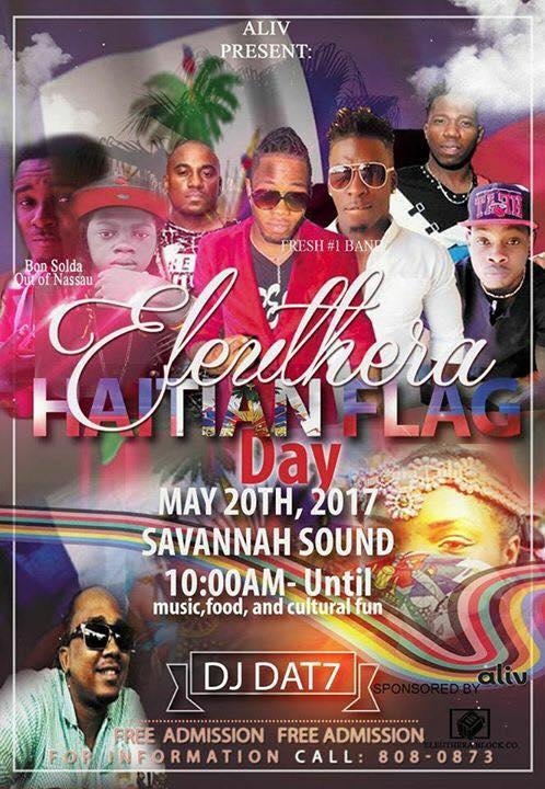 ELEUTHERA | Haitian Flag Day