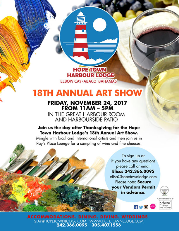 18th Annual Hope Town Harbour Lodge Art Show