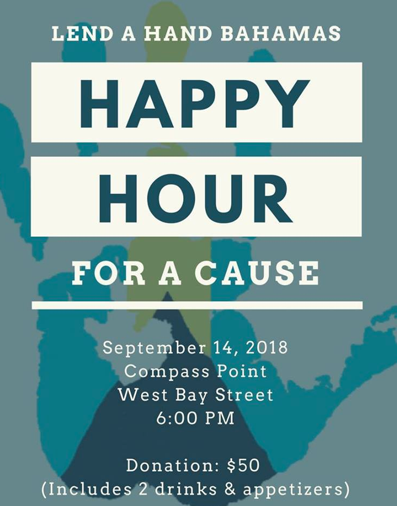 Happy Hour for a Cause Hosted Lend a Hand Bahamas