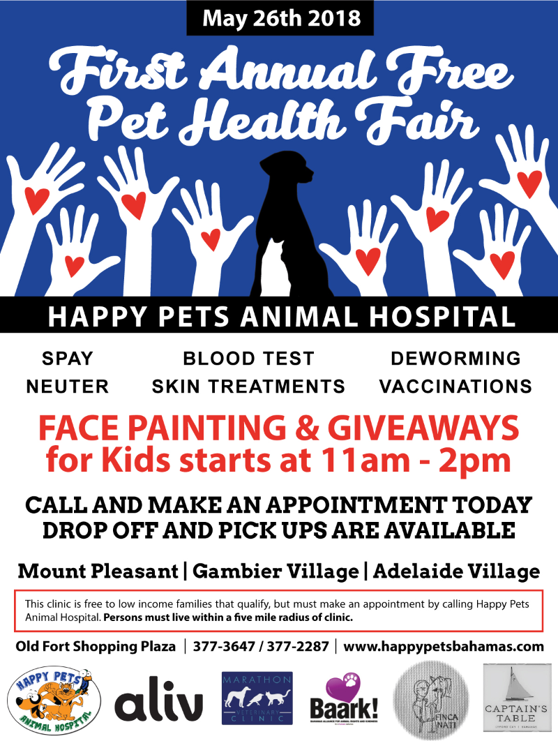 The First Annual Free Pet Health Fair