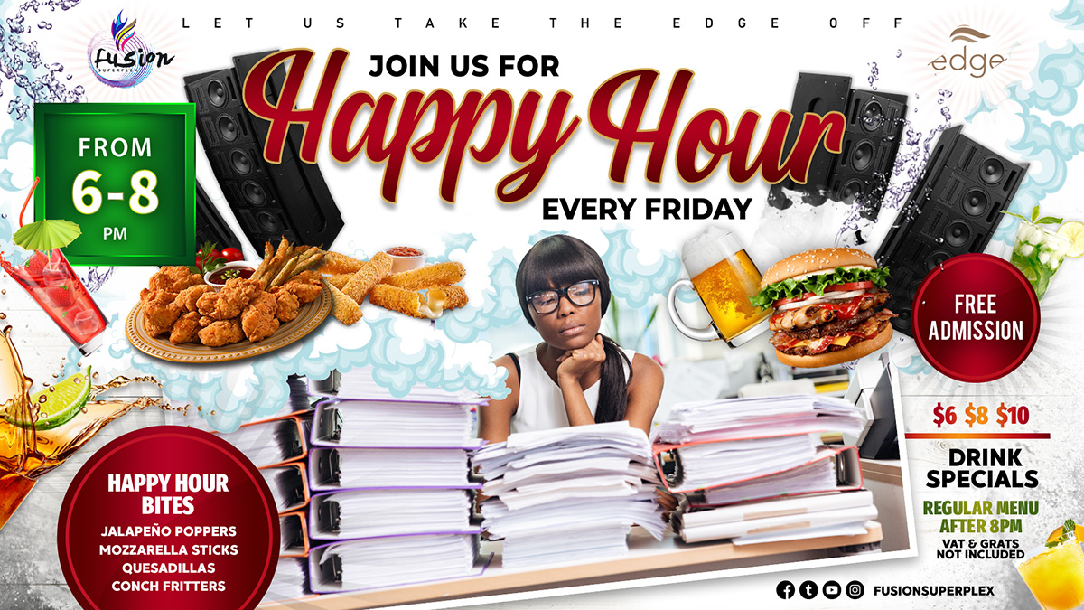 Happy Hour Friday at Fusion Superplex