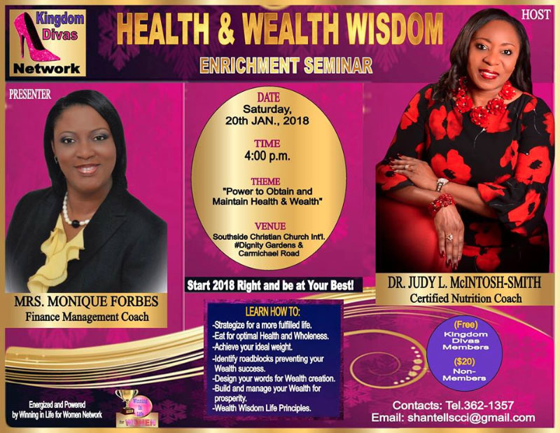 Health & Wealth Wisdom Enrichment Seminar!