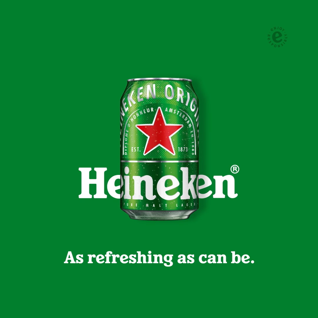 Heineken | As Refreshing As Can Be
