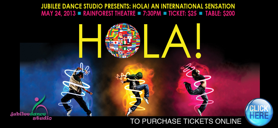 HOLA! An International Sensation