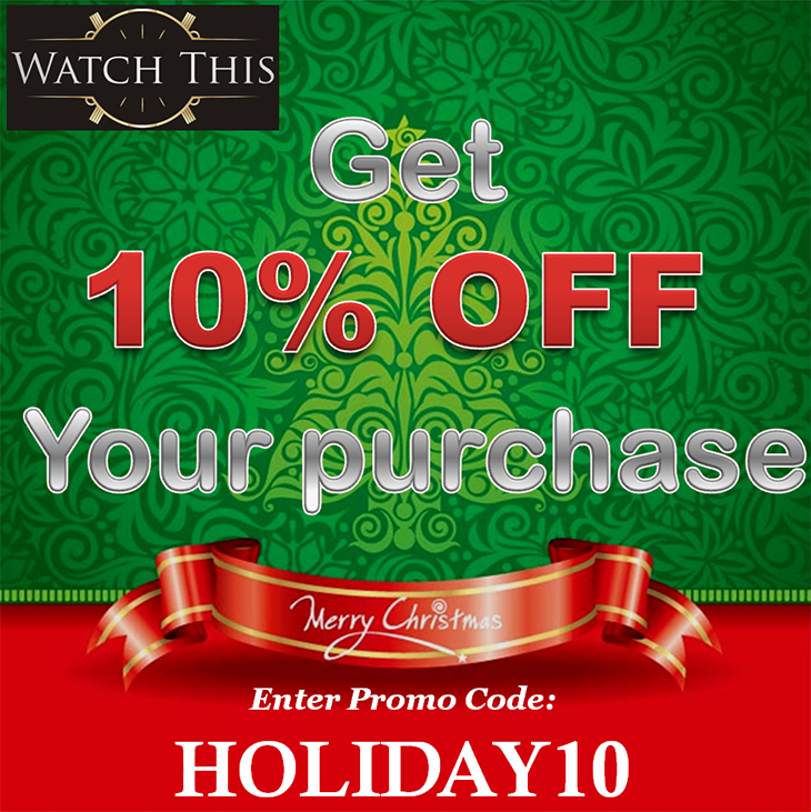 Get 10% OFF Your Purchase. Promo Code: HOLIDAY10