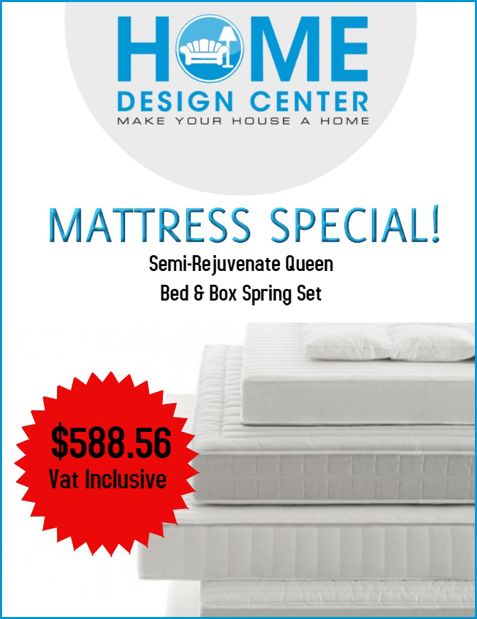 Home Design Center Mattress Special