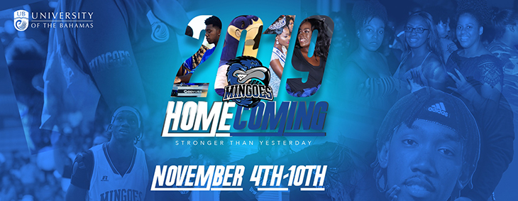 University of The Bahamas will host its 2019 Homecoming this November with many exciting events and activities.