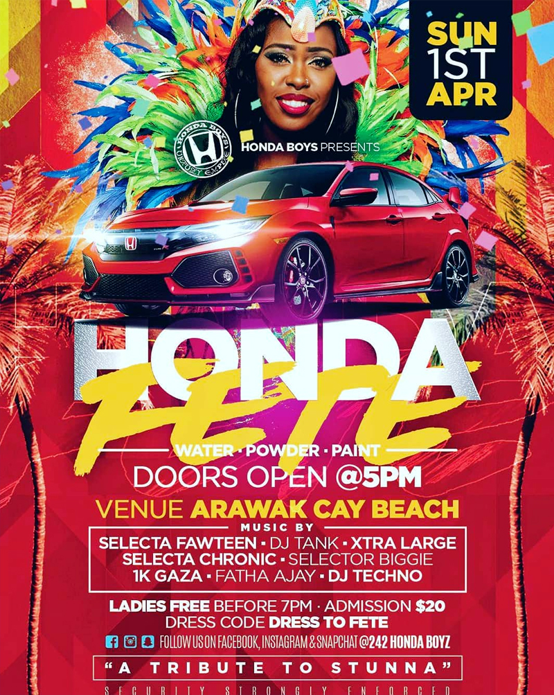 Honda Fete Presented By Honda Boys