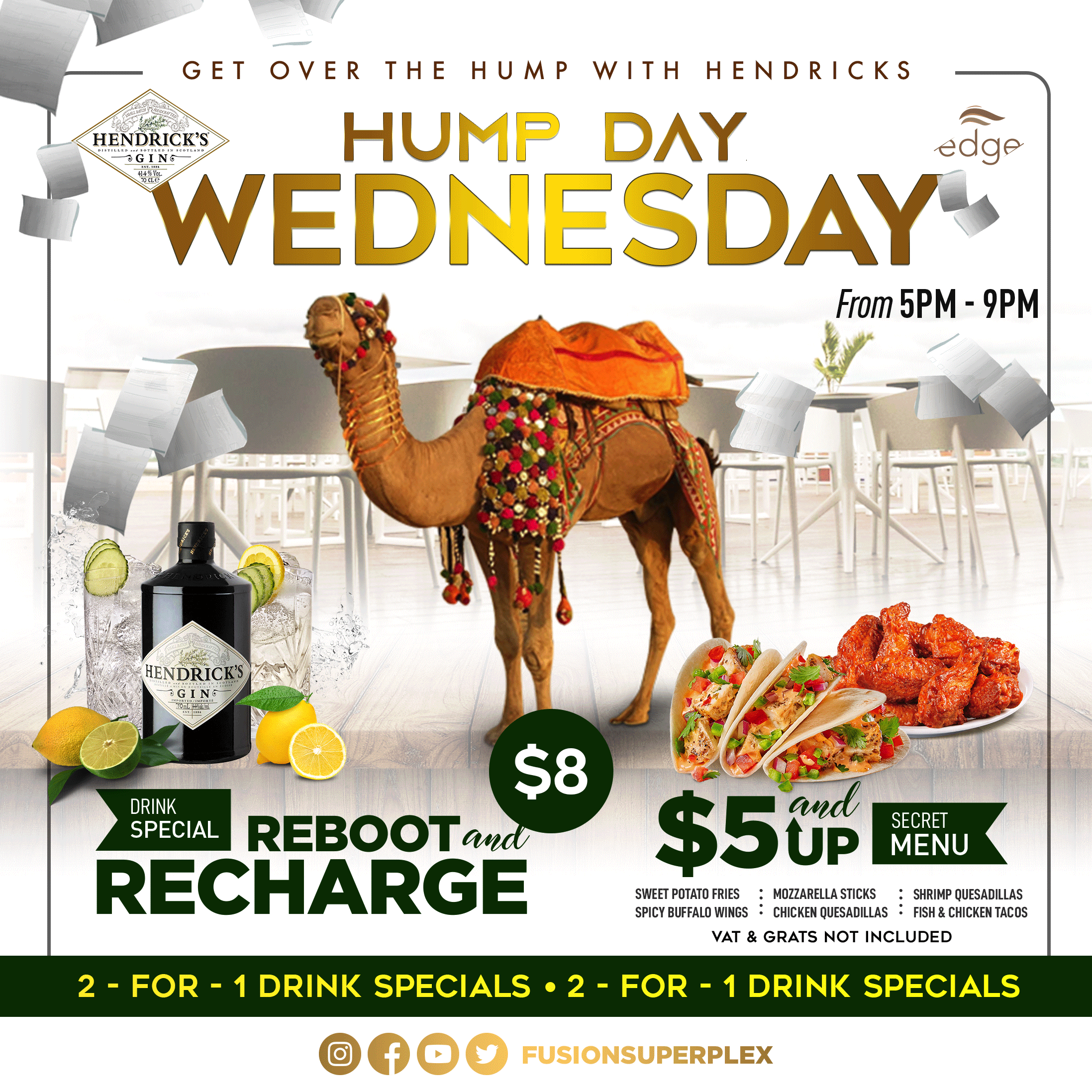 Hump Day Wednesday at Fusion Superplex