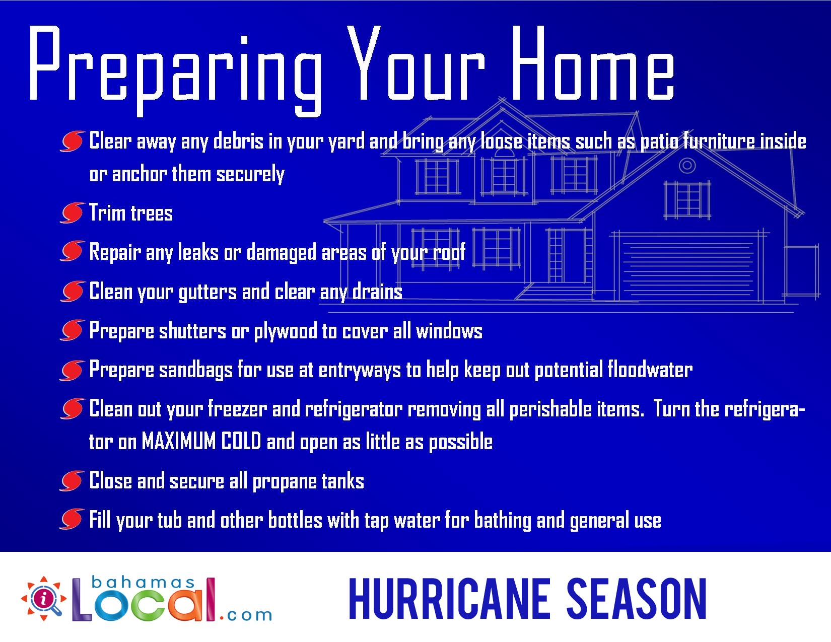 Preparing your home | Hurricane Seaso