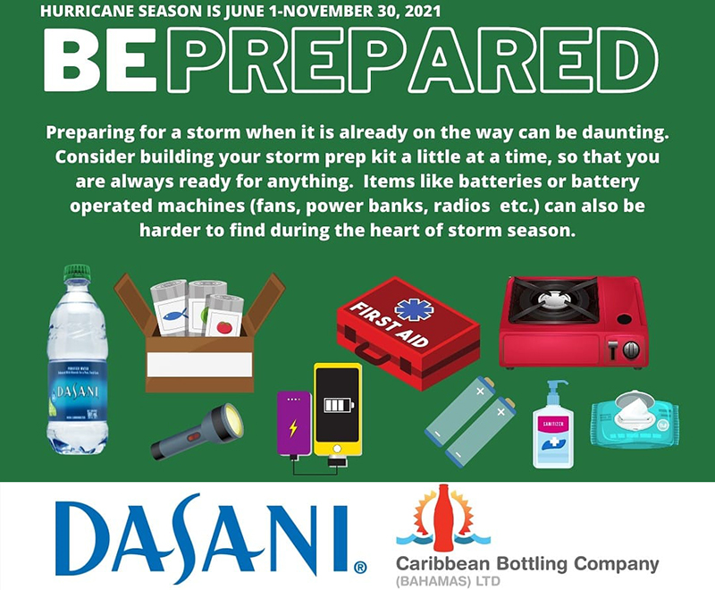 Be sure to build your emergency prep kit so that you are always ready, for anything.