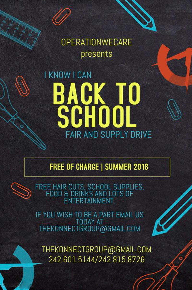 I Know I Can Back To School Drive/Fair