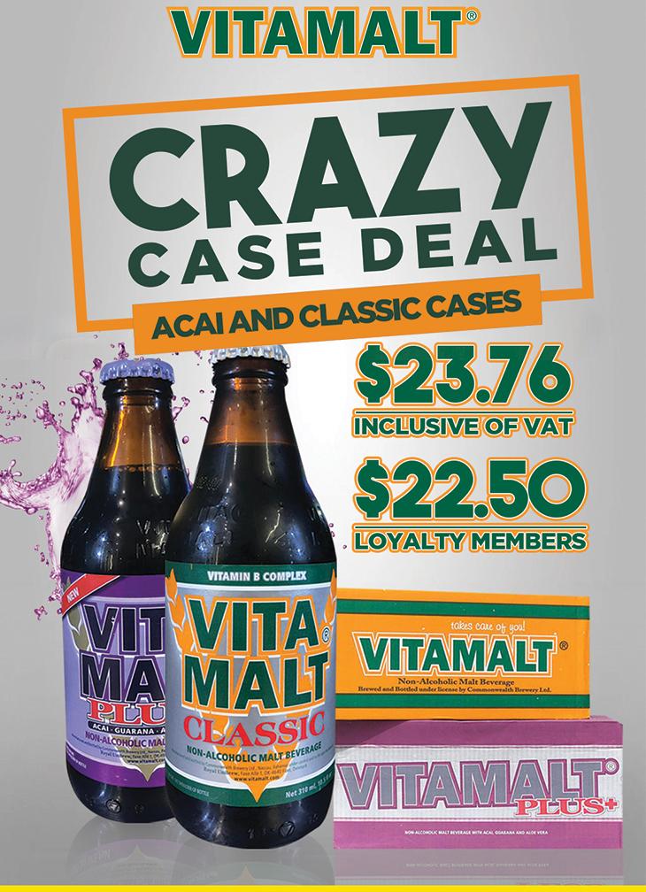 Vitamalt. Crazy Case Deal.