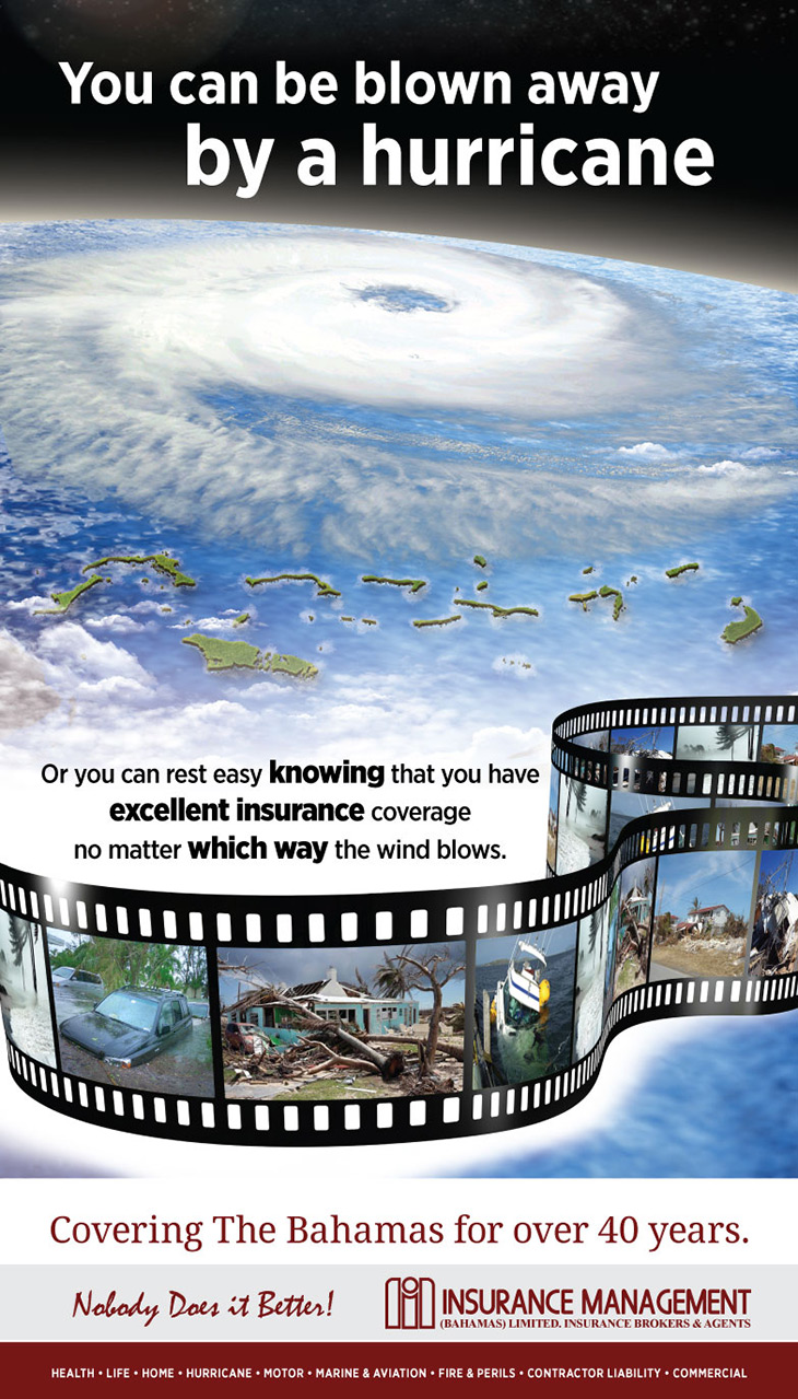Be Covered For Hurricane With Insurance Management (Bahamas) Ltd.
