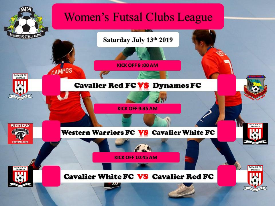 Womens Futsal Clubs League