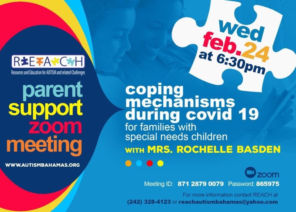 REACH Parent Support Group Meeting
