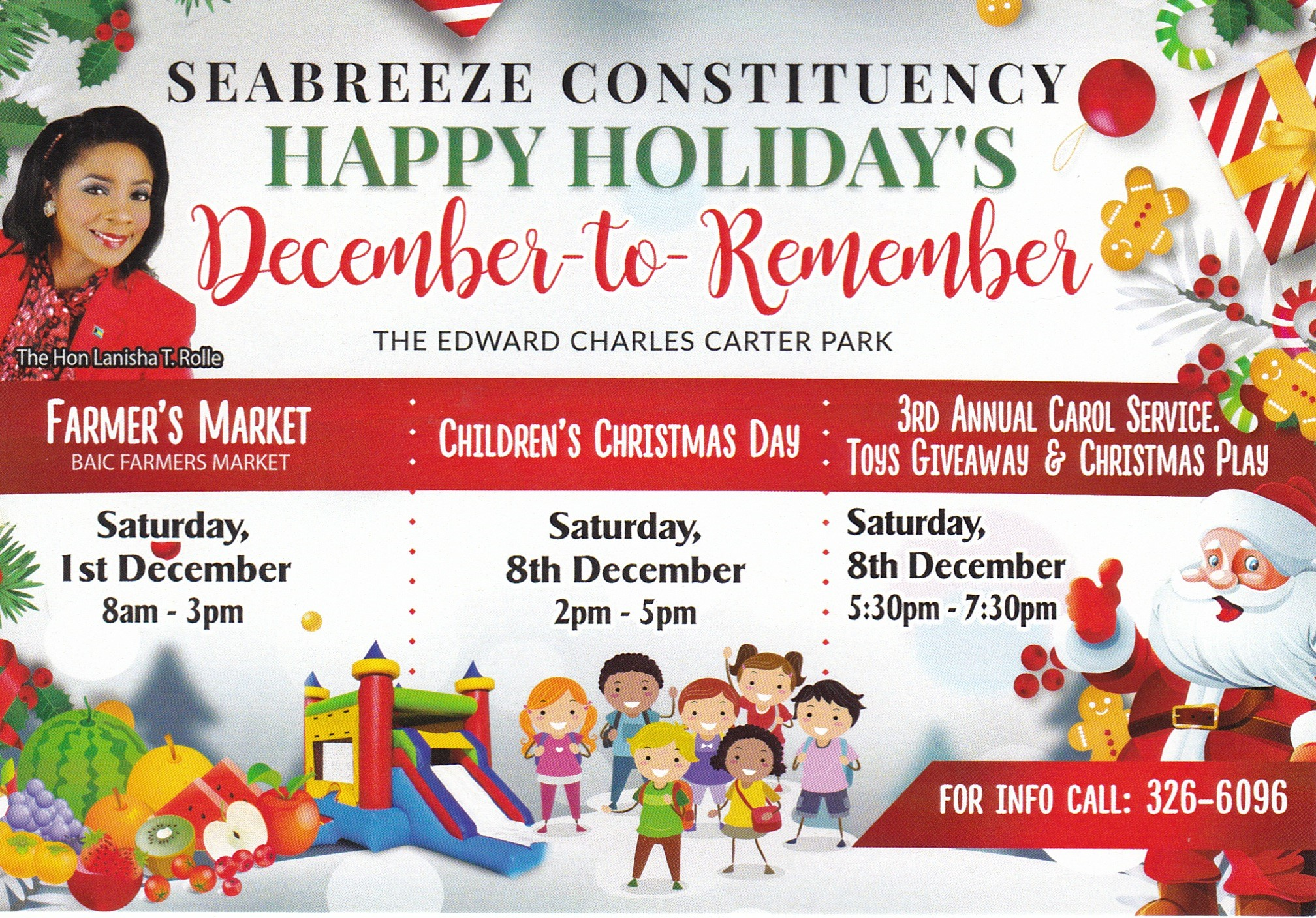 Seabreeze Constituency: Happy holidays | December To Remember