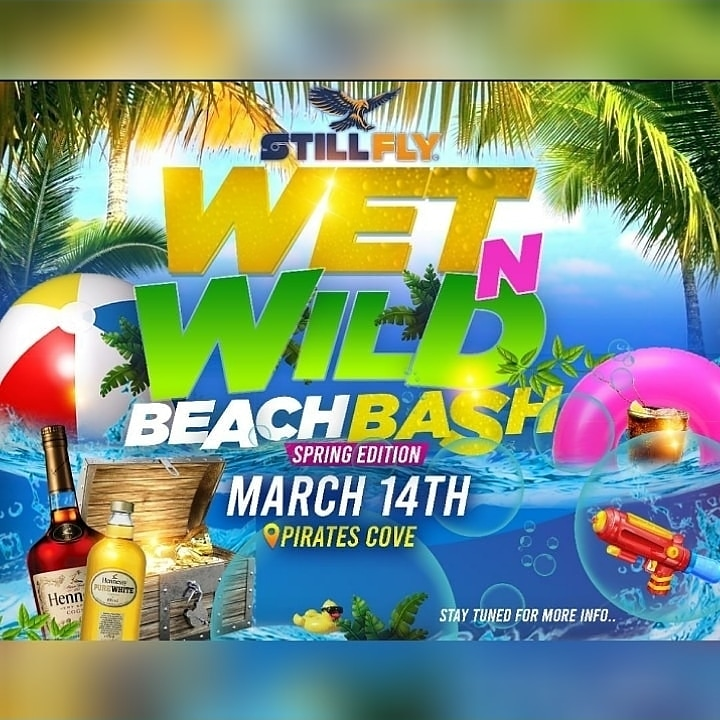 Wet N Wild Beach Bash at Pirates Cove