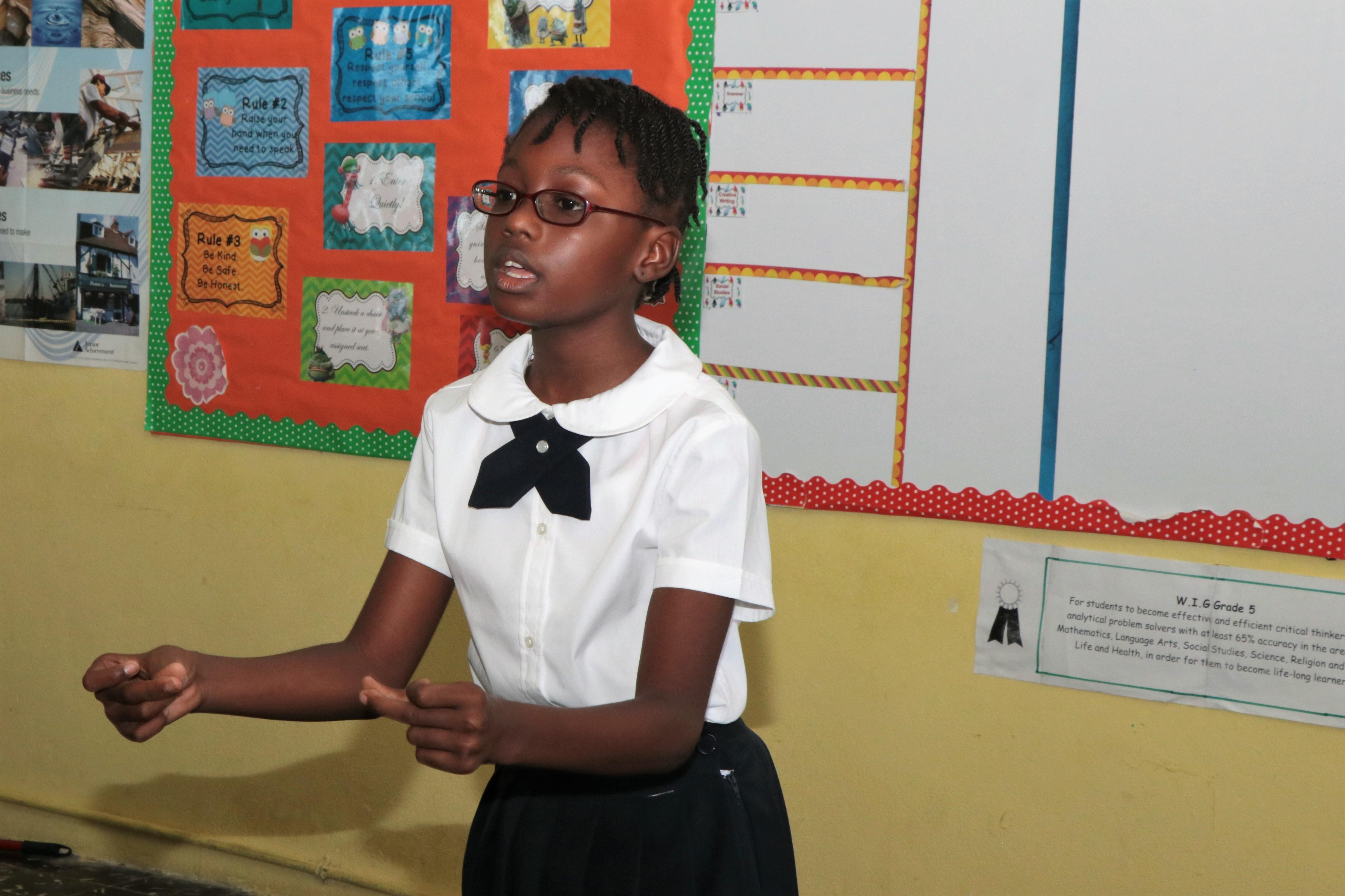 Tarpum Bay Primary Shines In National Arts Festival